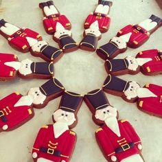 Nutcracker Christmas Cookies | Peggy Porschen