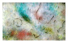 Pintura  Cristal  De vidriera  Otros  29 x 19 cm  10 de Diciembre de 2011  PIEZA DE VIDRIO ALQUIMICO CON PIGMENTOS VITREOS E INCLUSIONES DE SEMILLAS Y METALES. FUNDIDO A UNA TEMPERATURA DE 810º EL MARCO SE INCLUYE  © Todos los derechos reservados Mercury, Watercolor Tattoo, Painting, Art, The Alchemist, Metals, Stained Glass Windows, December, Glass