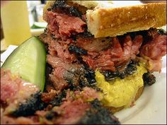 Pastrami On Rye w/Mustard at Katz Deli, New York