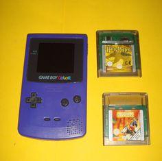 Game boy Color model CGB-001 con dos juegos-buen estado