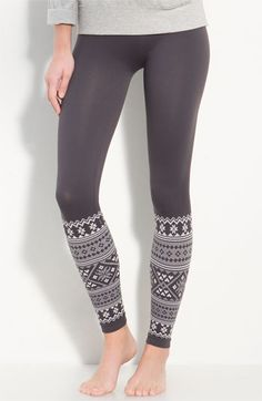 Make + Model Seamless Fair Isle Leggings Cute Leggings, Tight Leggings, Winter Leggings, Awesome Leggings, Leggings Store, Patterned Leggings, Yoga Leggings, Sweater Weather, Love Fashion