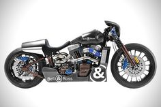 Ross Custom Harley Davidson and Bell & Ross Motorcycle