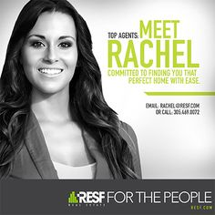 Meet Rachel, she is committed to finding the perfect home with ease! #topagent #resf #realestate