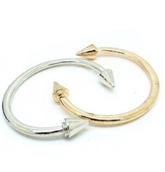 Favorite Accessories #1: metal bracelets (bangles)