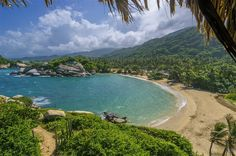 One of Colombia's most popular national parks, Tayrona grips the Caribbean coast in a jungly bear hug at the foot of the Sierra Nevada de Santa...