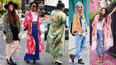 Qu'il soit avec des manches ou sans manches (à franges ou pas), en laine, en coton ou encore en soie, vous l'avez compris la veste kimono nous a envahie. De la plage à la ville il est partout!!!! Long ou court, la veste kimono nous habille à toute les...
