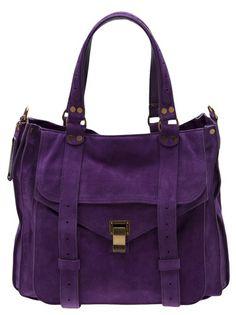 Designer Tote Bags - Designer Bags for Women Purple Love, All Things Purple, Purple Pumps, Designer Totes, Proenza Schouler, Sport Fashion, Messenger Bag, Diaper Bag, Satchel