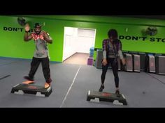 These Videos Will Totally Change Your Idea of Step Aerobics | Greatist...Extreme Step!
