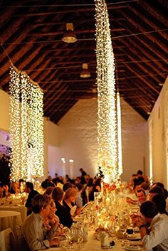 FEFE® Crystal LED Lights 9.8ft*9.8ft 304 LEDs String Lights Decorating Holiday,Party, Wedding Curtain Lights