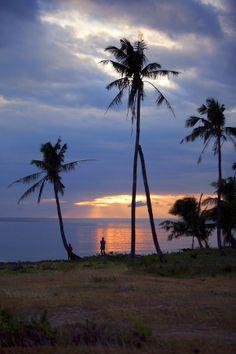 Sunset on Aklan island