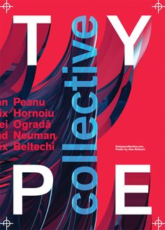 Typographic Poster Design by Alex Beltechi 32535