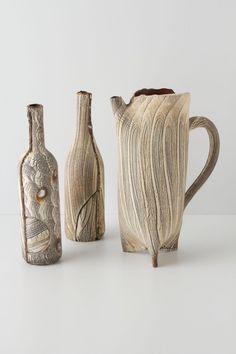 Woodgrain Vessel, High - Anthropologie.com