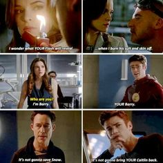 """I'm YOURS"" #Snowbarry #Barry&Cait #TheFlash"