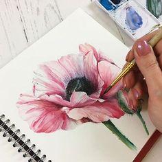 Watercolorist: @lidia_nureeva #waterblog #акварель #aquarelle #drawing #art #artist #artwork #painting #illustration #watercolor #aquarela