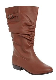 Plus Size Monica Wide Calf Boot - $90 @ WomanWithin