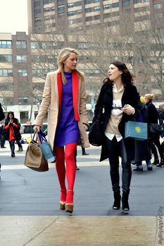 Fashion Friendship! What can be better than enjoying Fashion Week with your BFF?