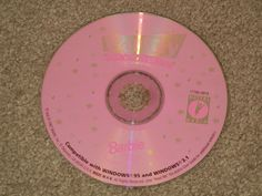BARBIE: Party Print 'n Play (Video Game, PC, Software, CD-Rom, Rated-E)