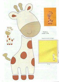 giraffe Lots of felt animal templates Animal Templates, Applique Templates, Applique Patterns, Applique Quilts, Felt Templates, Quilt Pattern, Card Templates, Sewing Patterns, Felt Animal Patterns