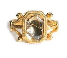 Mirrors of the Soul - Portrait Diamond Ring