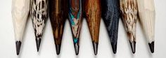 Beautiful pencils made from exotic woods by Caran d'Ache. Limited Edition