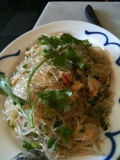 dungeness crab cellophane noodles at out the door (san francisco)