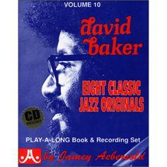 Aebersold Frisk-A-Long, Vol. David Baker, Musicals, The Originals, Frisk, Books, Play, Mesh, Libros