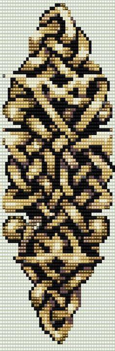 Celtic Knot Loom Or Peyote Bracelet Beading by BellestriOriginals
