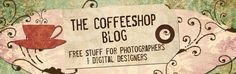 """The CoffeeShop Blog. An entire blog dedicated to """"stuff for photographers and digital designers"""". Leave a trail of crumbs so you remember to come back out!"""