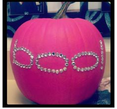 Boo bling pumpkin love it
