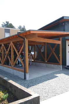 Warehouse, Diy And Crafts, Pergola, Shed, Outdoor Structures, Bike, Houses, Gardens, Bicycle