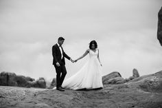 elopement first look in arches national park   desert elopement   moab wedding photographer   the hearnes adventure photography   www.thehearnes.com