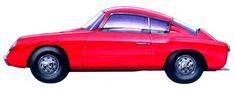 Abarth Fiat 750 GT Coupe (Zagato), 1957