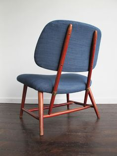 """TeVe-stol """"The TV Chair"""" by Alf Svensson."""