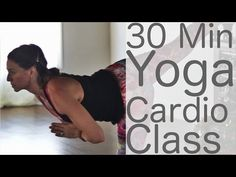 Yoga Cardio HIIT with Lesley Fightmaster - YouTube