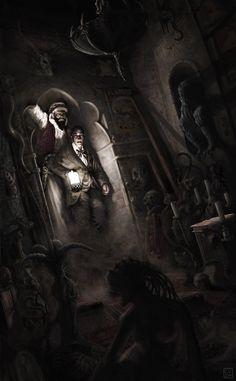 Lovecraft's Introduction  Cyril Van Der Haegen - Illustrator