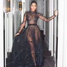 La La Anthony's Met Gala Outfit Show's Carmelo What He's Missing Gala Dresses, Sexy Dresses, Nice Dresses, Evening Dresses, Formal Dresses, Met Gala Outfits, Sexy Outfits, Fashion Outfits, Outfit Vestidos