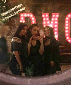 Landry Bender, Kayla Maisonet, and Jenna Ortega at thw Nylon Young Hollywood Party 2017 <3