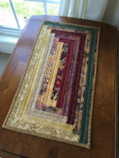 """This table runner measures approximately 12"""" x 22""""."""