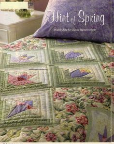 Hint Of Spring Quilt Pattern Pieced/Paper Pieced PS