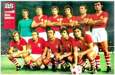 Real Murcia of Spain team group in Retro Football, Football Shirts, Football Team, Murcia, International Football, Athletic Clubs, Nostalgia, Soccer, Collection