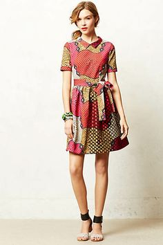 Legend & Song Dutch Wax Pili Dress - on sale at anthropologie!