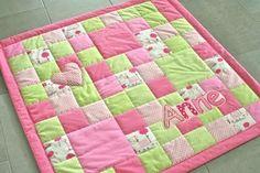 patchwork babydecke nähen   Babydecke Nähen, Baby Patchwork Decke, Kinderbettdecken, Kids ...