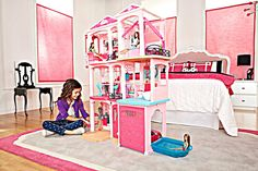 Mattel Barbie Dream House 2015 Doll Play Furniture Set 3 Story Elevator Parts in Dolls & Bears, Dolls, Barbie Contemporary (1973-Now) | eBay