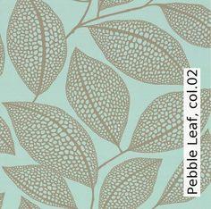 Tapete: Pebble Leaf, col.02 - Die TapetenAgentur