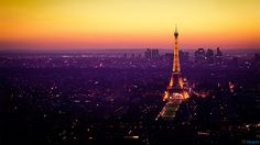 The Most Romantic Place in The World - Beautiful Eiffel Tower at Night