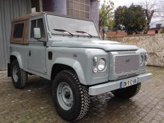 GORGEOUS Land Rover Car, Land Rover Defender 110, Defender 90, Land Rovers, Expedition Vehicle, Range Rover Sport, Ford Bronco, Motor Car, Dream Cars