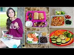 ▶ Healthy Back to School Lunches + After School snack ideas! - YouTube. This is a great video from a popular teen blogger.