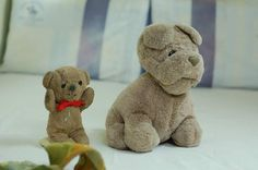 Lost at HK on 01 Jul. 2015 by Derek Chan: I want to find this 2 dog and bear All Is Lost, Lost & Found, Pet Toys, Asia, Teddy Bear, Dogs, Animals, Animales, Animaux