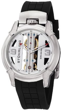 Stuhrling Original Men's 259.33162 Raptor Mechanical Skeleton Watch Stuhrling Original http://www.amazon.com/dp/B008N83YUY/ref=cm_sw_r_pi_dp_XPdcvb1RMNQHR