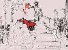 A contemporary drawing of Mary, Queen of Scot's, horrible execution. The execution of Mary was one of the most bloody in history, perhaps not quite as dreadful as that of William Wallace but in his case it was deliberately intended to be a torture as well.    Mary arrived at the gallows wearing a full length cloak with a hood.    Some believe that the executioner may have been a closet Catholic[1] and this may explain some of what happened on the gallows.    Mary had to remove some of her…